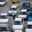 ترافیک نسبتا سنگین ۶ بزرگراه و یک خیابان در پایتخت