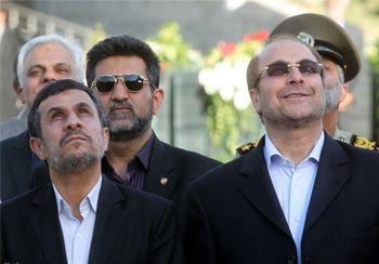 ترس اصولگرایان از تکرار تجربه احمدی نژاد در مورد قالیباف