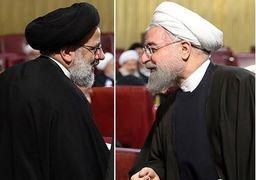 حضور همزمان روحانی و رئیسی در مشهد
