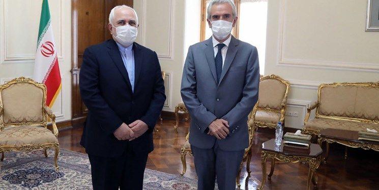 خداحافظی سفیر اسپانیا با ظریف