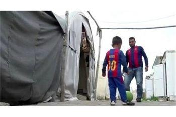 رهایی لیونل مسی از اسارت داعش +عکس