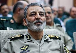 واکنش فرمانده کل ارتش به شعارهای ضدارتش منافقین