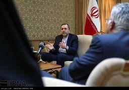 احترام جالب توجه دیپلمات ایرانی برای پرچم مقدس کشورمان + عکس