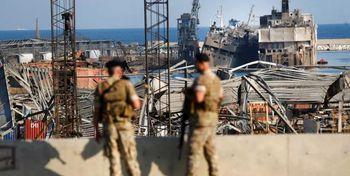معدوم سازی مواد منفجره یافت شده در بندر بیروت
