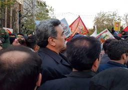 شهردار تهران در مراسم تشییع پیکر سردار سلیمانی: هر کسی سردار سلیمانی را دوست دارد باید مانند او باشد