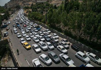 جاده چالوس تا یکشنبه مسدود شد