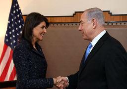 قدردانی نتانیاهو از زحمات نیکی هیلی برای اسرائیل