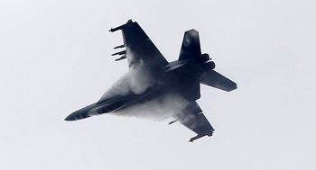 خفگی خلبان امریکایی در آسمان سوریه