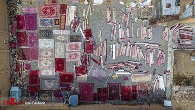 قالیشویی در آستانه سال نو