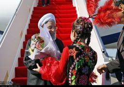 تصاویر سفر روحانی به  قزاقستان