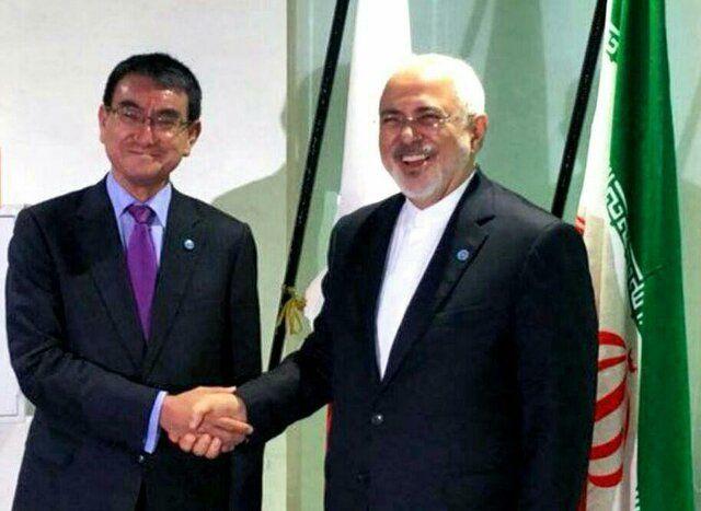 وزیران امور خارجه ایران و ژاپن