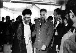 تصاویر فیدل کاسترو با رهبر انقلاب، روحانی، هاشمی و دیگران