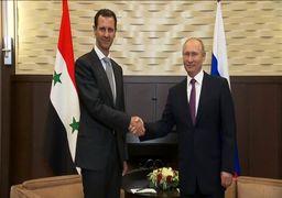 هدیه موشکی اسد به پوتین