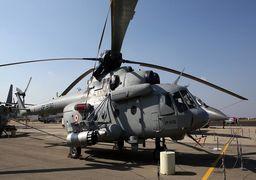 نخستین بالگرد «Mi-171» روسیه به چین تحویل داده شد