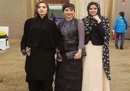 تیپ و پوشش بازیگران زن ایرانی در خارج از کشور+عکس