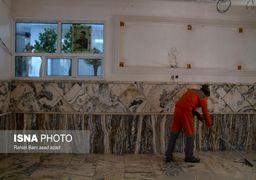 تصاویری از حال و هوای اطراف منزل سردار قاسم سلیمانی در کرمان