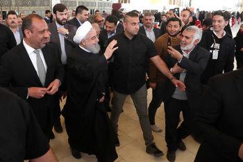 گزارش روحانی از سفر سه روزه خود به عراق /هیچ قدرت ثالثی قادر نیست بین ایران و عراق تفرقه ایجاد کند