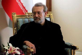 درخواست لاریجانی از کشورهای بزرگ: نگذارید امریکا به زورگویی عادت کند