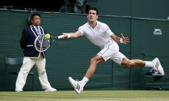 مرد شماره یک تنیس جهان دوباره خشمگین شد!