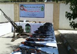 جزئیات کشف انبار سلاح تروریست ها در سیستان و بلوچستان