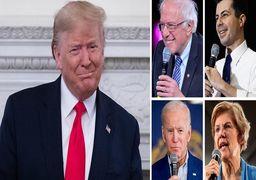 اعلام نتایج جدید نظرسنجی در آمریکا؛ سندرز در صدر دموکراتها/ترامپ بالاتر از همه نامزدها