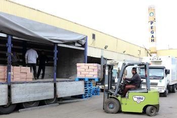 صادرات سومین محموله خامه پگاه گیلان به افغانستان