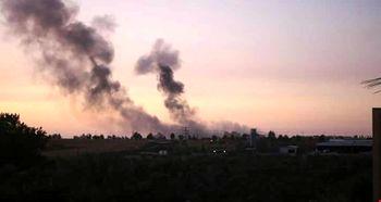 اسراییل غزه را بمباران کرد+عکس