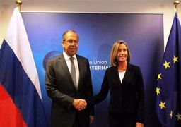 دیدار وزیر خارجه روسیه با موگرینی درباره برجام