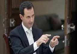 نظر اسد درباره مذاکره مستقیم با آمریکا