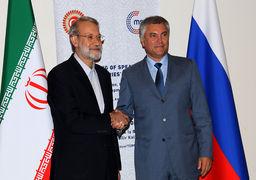 لاریجانی خواستار همکاری کشورها در برابر رفتار تند آمریکا شد