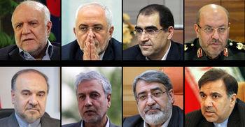 کابینه دوازدهم / ژنرال ها در دولت باقی ماندند؛ 8 وزیر قطعی دولت دوم روحانی