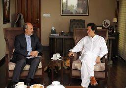 عمران خان: به گسترش روابط با پاکستان و ایران مینگریم