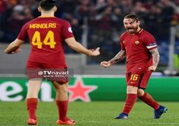 کامبک و شگفتی سازی رم در مقابل بارسلونا (رم 3-0 بارسلونا) / فیلم