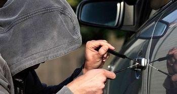 شیوه جدید سارقان برای سرقت خودرو در فصل زمستان +عکس