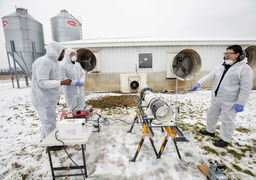 راهی برای نابود کردن ویروسهای موجود در هوا