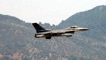 بمباران مجدد برخی از مناطق شمالی عراق  توسط جنگندههای ترکیه