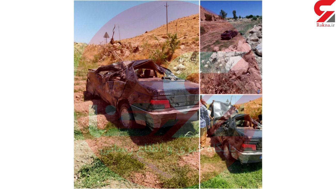 تصویر خودروی له شده حمید بقایی لو رفت+عکس