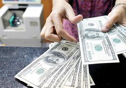 دلار در بازار تهران از طلا جاماند+جدول