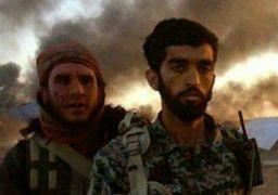 فرزند ارشد رهبر انقلاب در مراسم شهید حججی + عکس