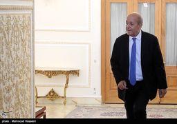 وزیر خارجه فرانسه در حرم امام علی(ع)+عکس