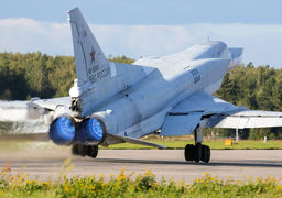 خداحافظی بمب افکن های دورپرواز روسیه با سوریه + عکس