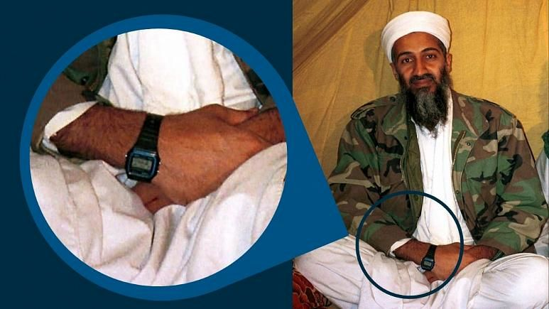 ساعت مچی محبوب بن لادن و گروه های مسلح/ چرا از کاسیو استفاده میکنند؟