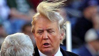 ترامپ بخاطر موهایش یک مراسم را لغو کرد
