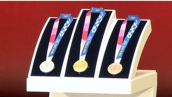 حک چهره  «الهه پیروزی» بر روی مدال های المپیک +عکس