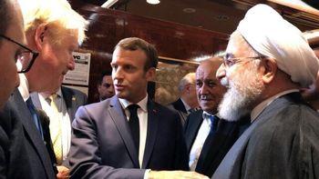 جزئیات دیدار مهم و همزمان روحانی با مکرون و جانسون +عکس