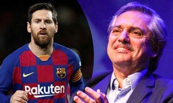 درخواست رئیس جمهور آرژانتین از لیونل مسی