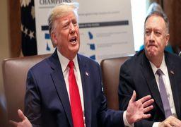 اولین واکنش ترامپ به حمله موشکی ایران