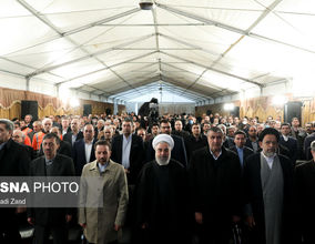 گزارش تصویری افتتاح منطقه یک آزادراه تهران-شمال با حضور رییس جمهور