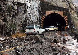جاده چالوس خطرناک است/ احتمال وقوع سیل و ریزش سنگ و بهمن