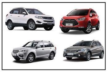 اعلام قیمت جدید 15 خودروی چینی + جدول قیمت